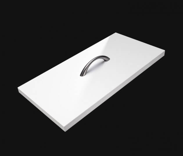 resimdo CO-BA-HS204 Shiny White Gloss Möbelfolie Weiß Glanz für Küchenmöbel, Schränke, Sideboards Schublade